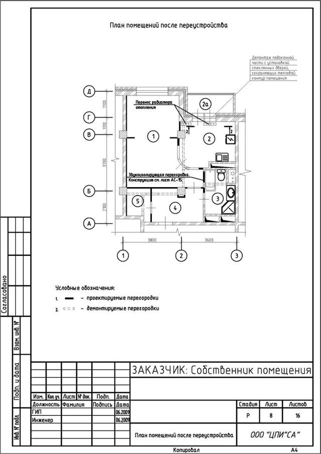 Как и зачем нужно получать разрешение на перепланировку квартиры?