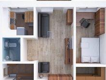Планировка двухкомнатной квартиры в хрущевке: возможные варианты перестройки в кирпичном доме, примеры выполненных работ