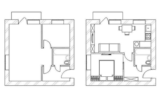 Перепланировка трехкомнатной квартиры в хрущевке: варианты переделок 3-шки, которые разрешены в кирпичном доме