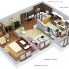 Планировка 2-х комнатной квартиры в панельном доме: стандартные варианты изменений в типовых зданиях, перечень необходимой документации