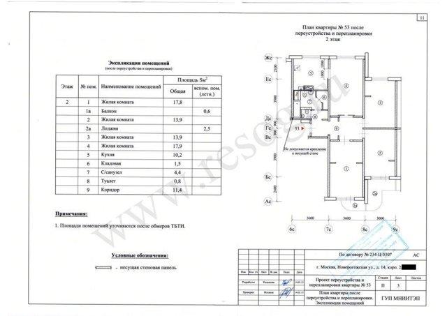 Перепланировка квартир 4-комнатных в различных типовых домах: порядок действий и варианты проектов