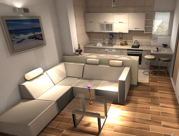 Снять квартиру студию на сутки и без посредников, а так же можно ли оформить договор аренды и какова цена 1-комнатных апартаментов в сданных домах?