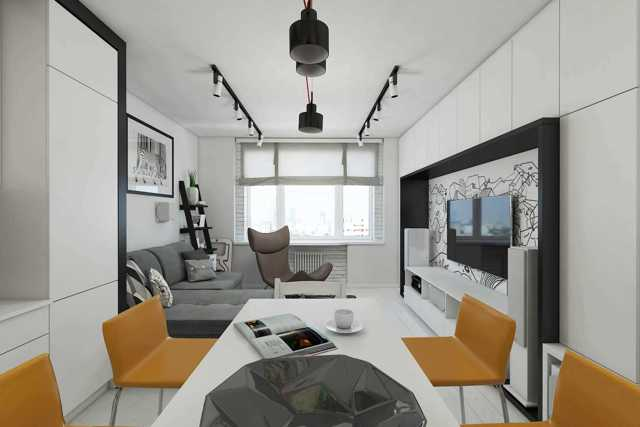 Планировка квартир п 44, размеры однокомнатных, 2-х комнатных и трехкомнатных помещений в домах данной серии, возможности перепланировки