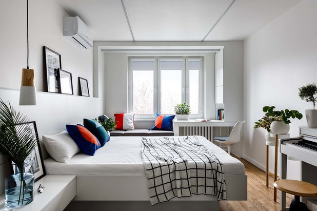 Перепланировка 1-комнатной в 2-х комнатную квартиру: какие есть варианты и примеры работ, 40 кв. м, что с ними можно сделать?